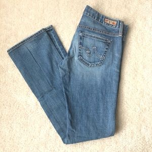 AG the Tomboy Relaxed Straight Leg Jeans Sz 27R
